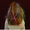 Glowbys Rainbow Fiber Optics Hair Clip